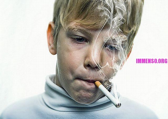 Come smettere di fumare per mezzo di una radice di acorus